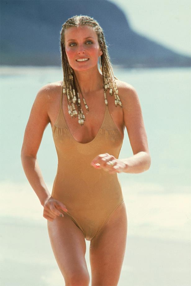Bo Derek made the nude one piece historic in <em>10</em>.