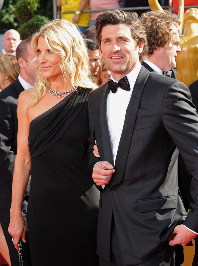 15. Patrick and Jillian Dempsey <br> According to the tabloids, these two actually might be reconciling, and thank god, because the sheer number of longtime couplings that have dissolved this year is depressing—just wait until you get to the end of this list. Even more tired is that old classic Cute Actor Makes It Big And Then Blows Up His Life story. (Rob Lowe, hang in there with Sheryl Berkoff; your domino looks steadier every time another one of these falls.)
