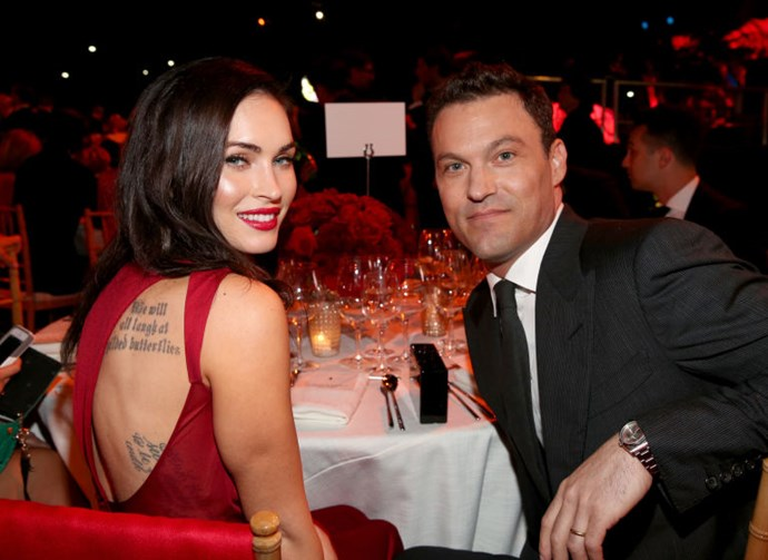 8. Megan Fox and David Silver<br> OK, fine, his name is Brian Austin Green. Technically. But good luck looking at him without imagining him playing a synthesizer in a blouse on 90210. It's for that reason that we really rooted for this twosome.<br> Because either Megan Fox saw him as he is and loved him deeply—romantic!—or she had the same problem we did, but simply didn't care that she was hooking up with a dude whose dream girl was once Donna Martin. That's also pretty romantic, if you think about it.