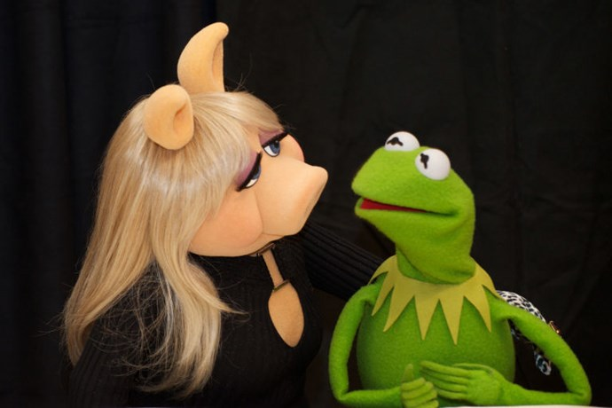 1. Kermit the Frog and Miss Piggy<br> OK, they're not real. (Or even people.) We know this. But theirs was a film and TV love story almost 40 years in the making, through countless squabbles, breakups, and makeups—they were always together, even when technically they weren't—and across generations of fans. <br>And then ABC went and ruined it. The network not only broke them up for what felt like a cheap, callow publicity stunt for its new sitcom The Muppets, but had Kermit making actual fat jokes about his porcine former paramour.<br> It was a mean-spirited violation of a treasured—if fictional—couple. And the thing is, when the actual human love stories are flaming out at this rate, it's doubly wounding to stomp all over the escapist ones from our childhoods. <br>Apparently nothing really is sacred.