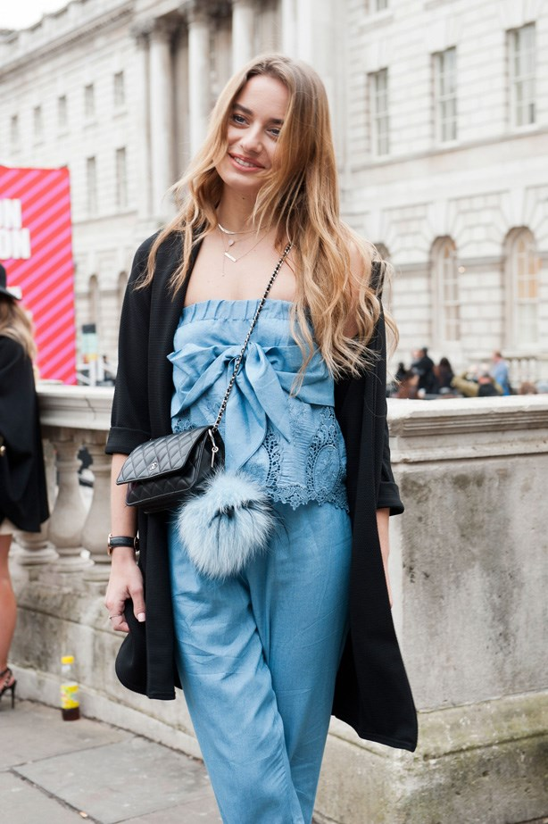 <p>1. Fluffy balls</p> <p>While we cannot think a better name for them, there's no denying that these little balls of fluff look adorable on a handbag.<p>