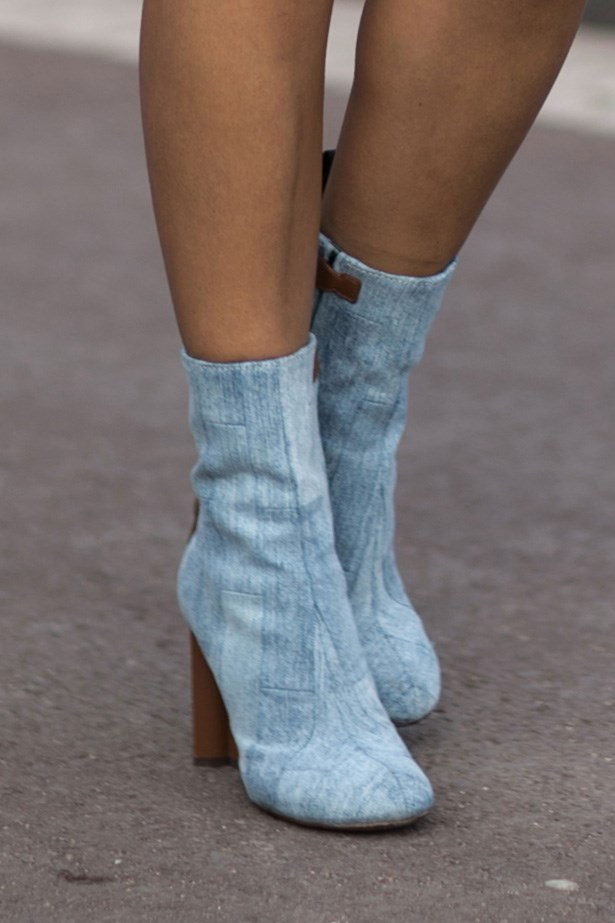 <p>12. Louis Vuitton patch-work denim</p> <p>These boots are sold out worldwide, it's fair to say everyone is ga-ga for Vuitton's new direction.</p>