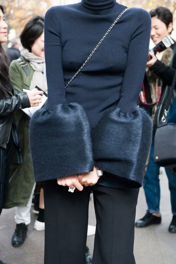 <p>23. Bell sleeves</p> <p>Last but not least, 2015 was the year of bell sleeves. We're looking at you Ellery.</p>