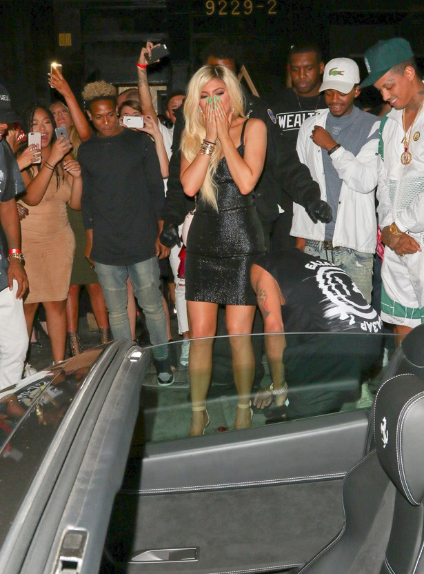 <p><strong>11. 9 August</strong></p> <p>That time Tyga bought her a car and she had platinum blonde hair. Amazing.</p>
