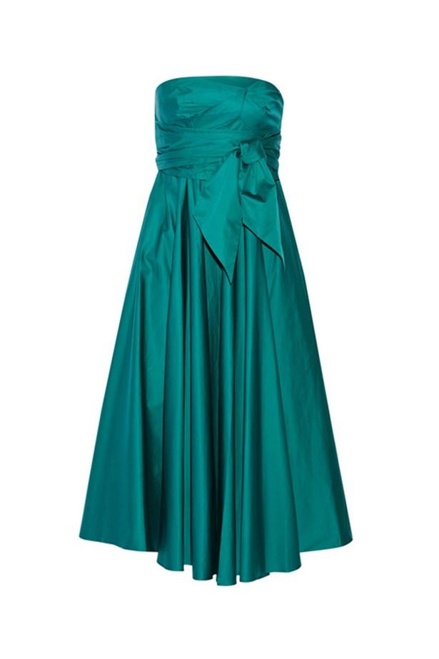 "Tibi strapless dress, $787, <a href=""http://www.net-a-porter.com/au/en/product/536421/tibi/strapless-satin-poplin-midi-dress"">Net-A-Porter</a>"