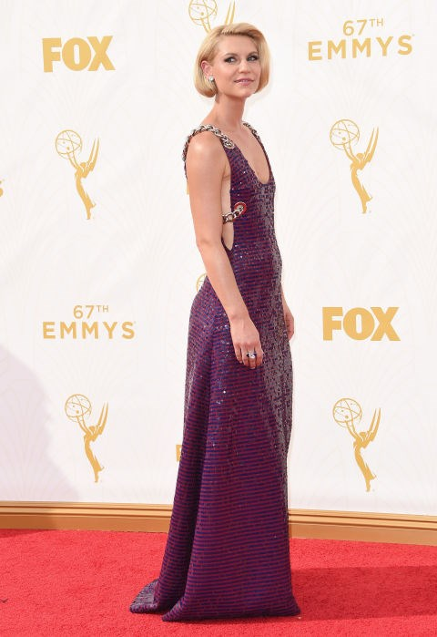 <strong>CLAIRE DANES IN PRADA</strong> <br><br> Attending the 67th Annual Emmy Awards, September 20.