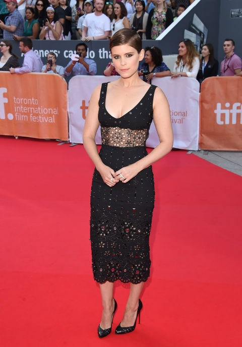 <strong>KATE MARA IN MARC JACOBS</strong> <br><br> Attending the 2015 Toronto International Film Festival, September 15.