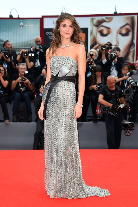 <strong>ELISA SEDNAOUI IN ARMANI PRIVÉ</strong> <br><br> Attending the 72nd Venice Film Festival, September 2.