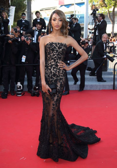 <strong>JOURDAN DUNN IN RALPH & RUSSO</strong> <br><br> Attending the 68th annual Cannes Film Festival, May 22.