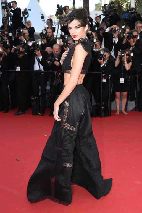 <strong>KENDALL JENNER IN ALAÏA</strong> <br><br> Attending the 68th annual Cannes Film Festival, May 20.