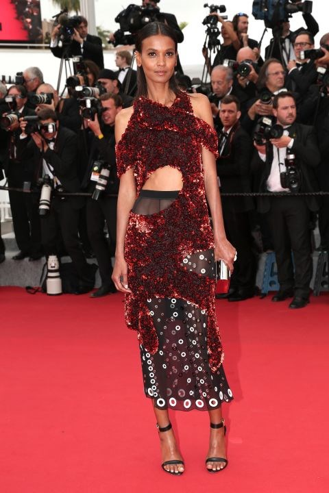 <strong>LIYA KEBEDE IN PROENZA SCHOULER</strong> <br><br> Attending the 68th annual Cannes Film Festival, May 14.