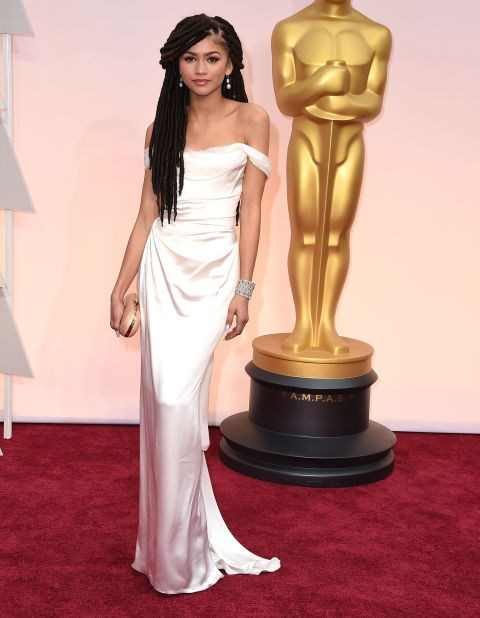 <strong>ZENDAYA IN VIVIENNE WESTWOOD</strong> <br><br> Attending the 87th Annual Academy Awards, February 22.