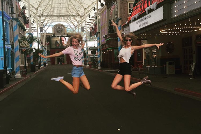 <p><strong>Blake Lively and Taylor Swift</strong> <p>'Squad goals' friends.