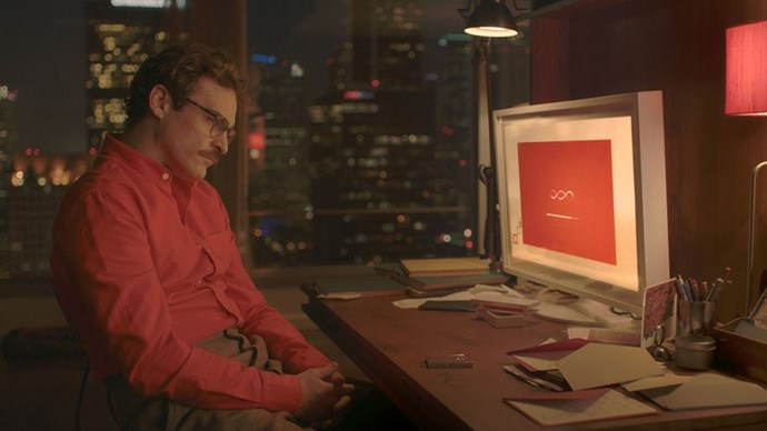 <strong>39. HER (2013)</strong> <br><br> Spike Jonze's 2013 Oscar-favourite is a semi-dystopian love story set in a time where people can have relationships with computers. So beautiful.
