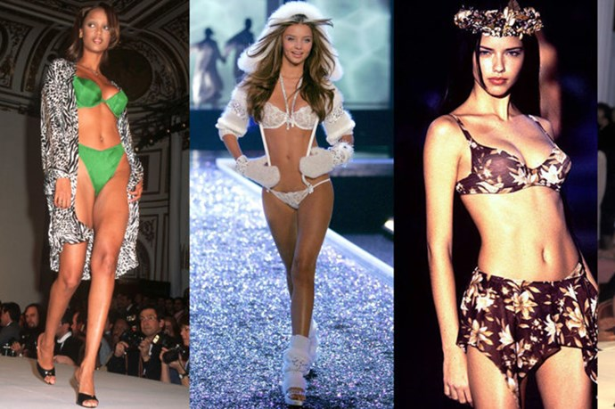 Victoria's Secret Models Then And Now