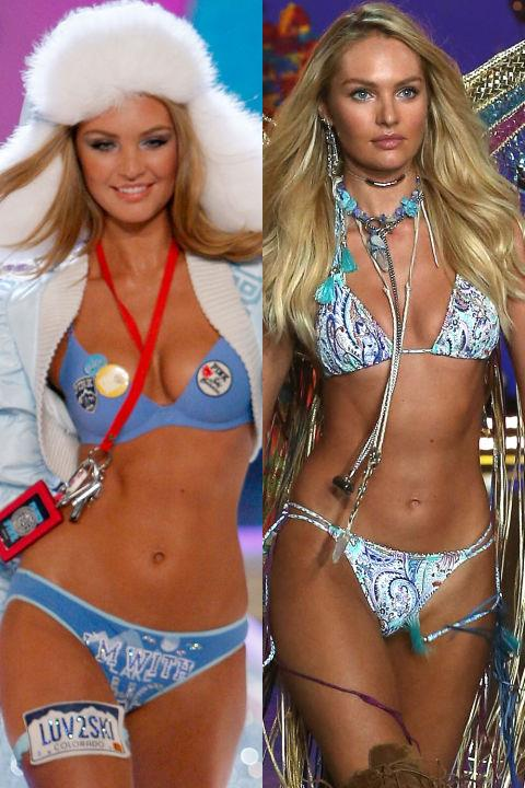 ANGEL: CANDICE SWANEPOEL First Show: 2007 Last Show: 2015 GETTY