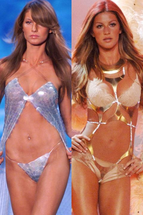 ANGEL: GISELE BUNDCHEN First Show: 1999 Last Show: 2006 GETTY