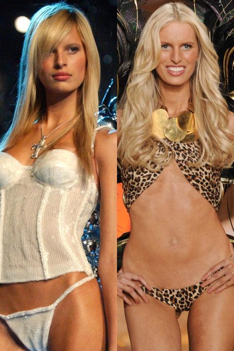 ANGEL: KAROLINA KURKOVA First Show: 2000 Last Show: 2010 GETTY
