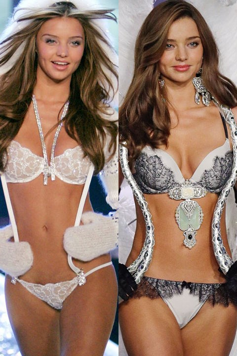 ANGEL: MIRANDA KERR First Show: 2006 Last Show: 2012 GETTY
