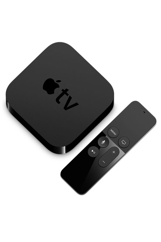 "<strong>Apple TV</strong>, From $269, <a href=""http://www.apple.com/au/shop/buy-tv/apple-tv"">apple.com</a> <br><br> The new version is far swankier than the old."