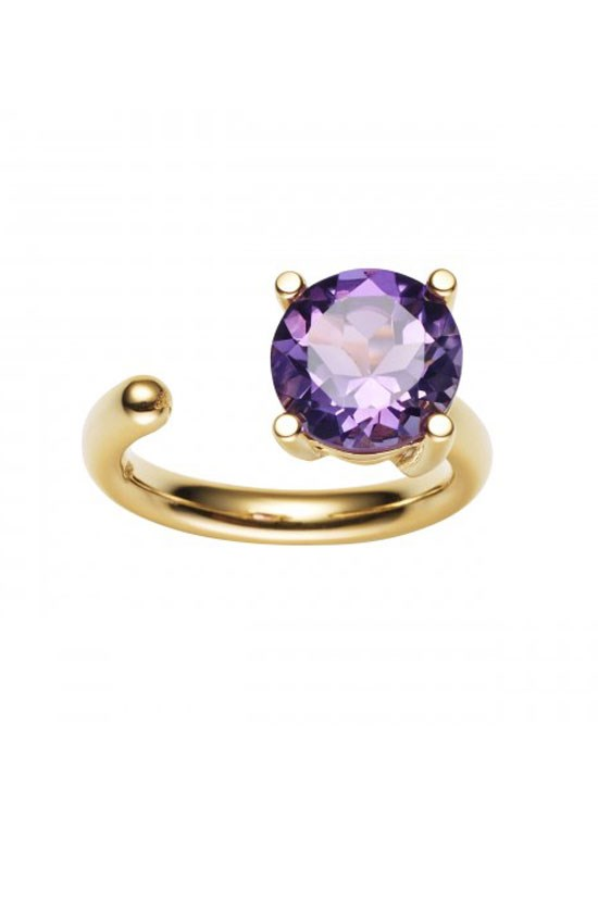 "<strong>9CT Amethyst Carly Ring</strong>, $875, Jan Logan, <a href=""http://www.janlogan.com/coloured-stone-cocktail-ring-110768"">janlogan.com</a> <br><br> This will no doubt be highly appreciated."