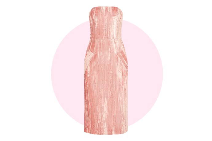 "For dresses, velvet is the new sequins. Trust us. This <a href=""http://www.net-a-porter.com/au/en/product/649835/Topshop_Unique/mayall-crushed-velvet-dress"">Topshop Unique number</a> is perfect for dancing."