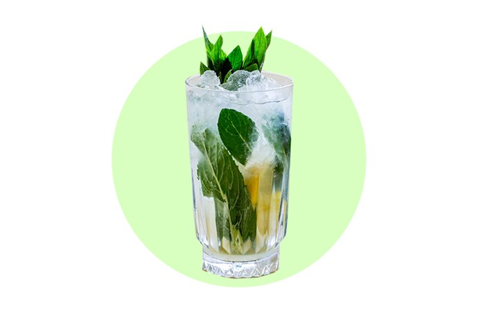 "Go sweet and refreshing for your signature cocktail - like this <a href=""http://www.elle.com.au/culture/lifestyle/2015/12/elle-recipes-gin-and-elderflower-cocktail/"">gin and elderflower</a> one."