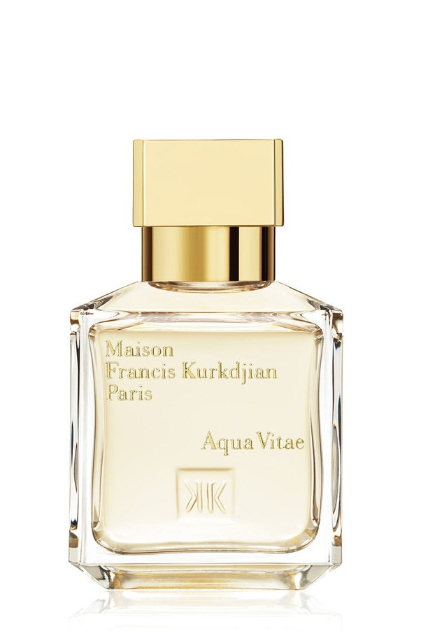 <strong>Aqua Vitae Forte EDT, $200 for 70mL, Maison Francis Kurkdjian <br><br>Paris, mecca.com.au</strong> A unisex fragrance with a cult following, its crisp citrus notes of lemon and Sicilian mandarin make this a fail-safe gift option.