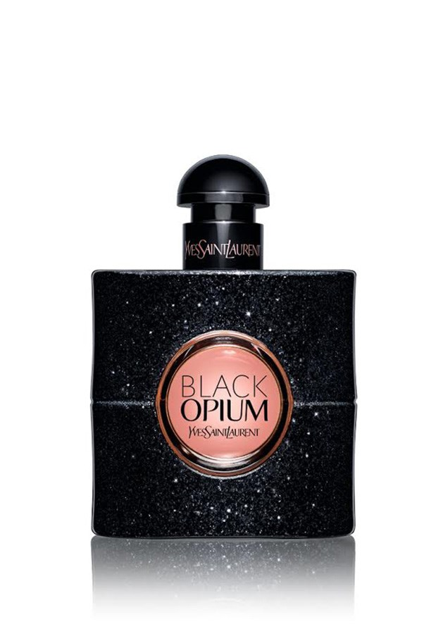<strong>Black Opium, $125 for 50mL, Yves Saint Laurent, 1300 651 991</strong> <br><br>Another reworking of a long-standing favourite, the sparkling bottle holds a decadent concoction of mandarin essence, jasmine and coffee base notes.