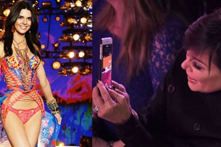 Kris Jenner Had Zero Chill Watching Kendall Jenner At The Victoria's Secret Show