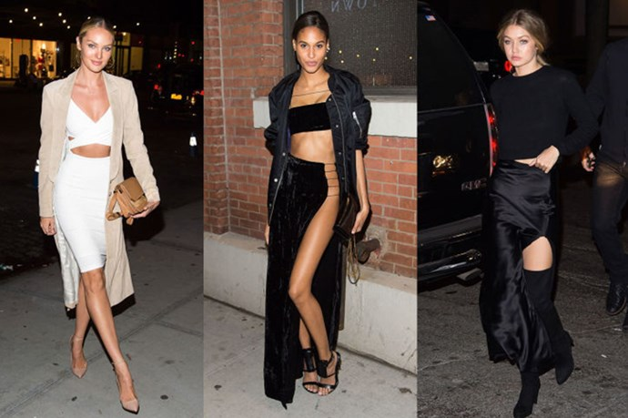 What Gigi Hadid, Lily Aldridge And Others Wore To The Victoria's Secret Screening Party