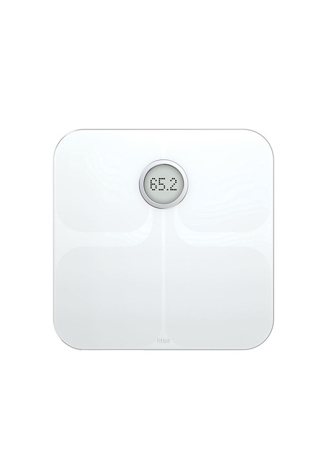 """Fitbit scales, $179.95, <a href=""""http://www.myer.com.au/shop/mystore/fitbit-aria-wireless-body-scale-white"""">Myer</a>."""