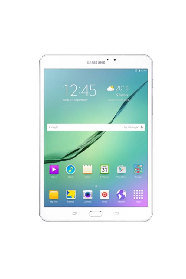 """Samsung Galaxy Tablet, $499, <a href=""""http://www.myer.com.au/shop/mystore/electrical/tablets/galaxy-tab-s2-8in-32gb-wifi---364124620"""">Myer</a>."""