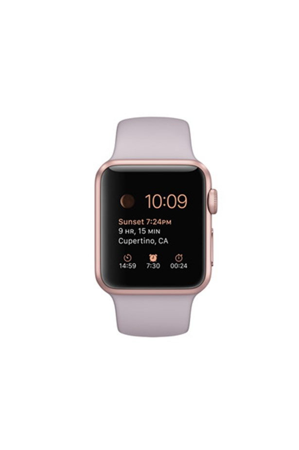 """Apple Watch, prices vary on style,<a href=""""http://www.apple.com/au/watch/""""> Apple</a>."""