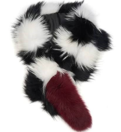 "<strong>CHARLOTTE SIMONE POPSICLE SCARF</strong> <br><br> <a href=""http://www.matchesfashion.com/au/products/Charlotte-Simone-Popsicle-striped-fur-scarf-1029162"">www.matchesfashion.com</a>"
