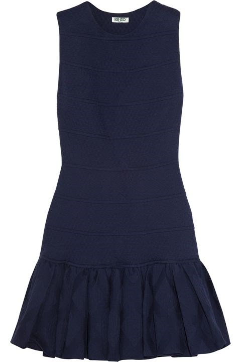 "<strong>RUFFLES</strong> <br><br> Kenzo, <a href=""http://www.ebay.co.uk/itm/KENZO-Blue-Cutout-Back-Cocktail-Dress-UK8-10-FR38-/161739056380?hash=item25a86624fc:g:NI4AAOSwgQ9VhE18&afsrc=1&rmvSB=true"">www.ebay.com</a>"