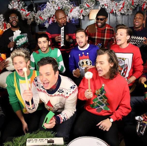 One Direction (+ Jimmy Fallon)