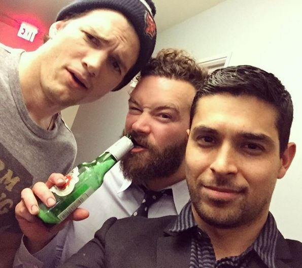 """<strong>That '70s Show</strong> <br><br> Wilmer Valderrama also <a href=""""https://www.instagram.com/p/_Mxm-gSKhN/?taken-by=wilmervalderrama"""">posted this</a>, proving the good times were still rolling."""