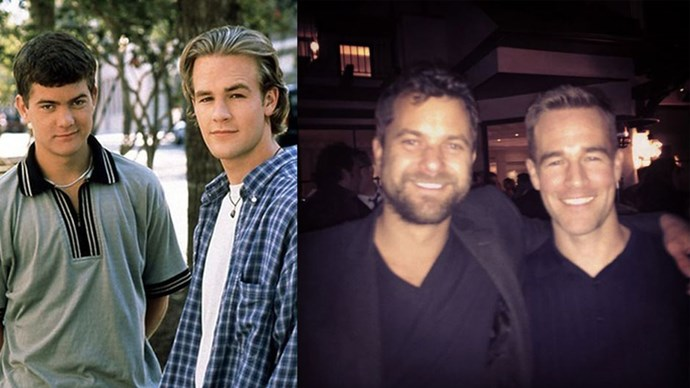 """<strong>Dawson's Creek</strong> <br><br> <a href=""""https://www.instagram.com/p/vdBZO1p1NB/?taken-by=vanderjames"""">These two</a>! James Van Der Beek and Joshua Jackson starred alongside Michelle Williams and Katie Holmes in the classic drama series <em>Dawson's Creek</em>."""