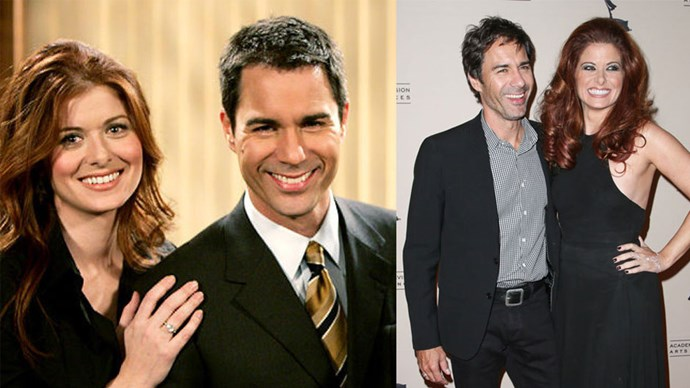 <strong>Will & Grace</strong> <br><br> Debra Messing and Eric McCormack, our favourite girl and gay best friend from the classic hit comedy series <em>Will & Grace</em>, reunited two years ago at an Academy of Television Arts & Sciences event.