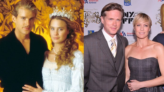 <strong>The Princess Bride</strong> <br><br> Anyone remember Westley and Buttercup from <em>The Princess Bride</em>?! Actors Cary Elwes and Robin Wright reunited 25 years later for the 1987 film's anniversary.
