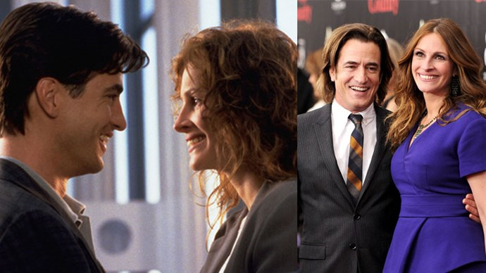 <strong>My Best Friend's Wedding</strong> <br><br> On-screen best friends with sexual tension, played by Julia Roberts and Dermot Mulroney, both starred in 2013's August: Osage County together.