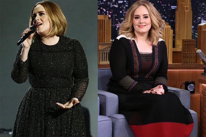 <p> <strong>Adele</strong></p> <p>Adele has swapped her bouffant for a chic, shaggy bob (or maybe she pulled a Gigi Hadid and it's a fake out, either way it's On. Point) that she debuted during a performance at The X Factor in London last night.<br> We're predicting that this is going to be one HEAVILY requested 'do.</p>