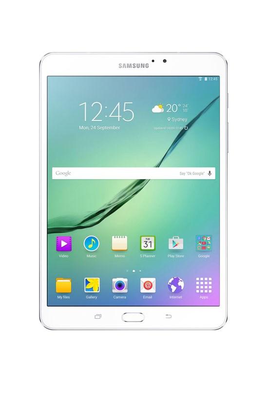 """Samsung Galaxy Tablet, $499, <a href=""""http://www.myer.com.au/shop/mystore/electrical/tablets/galaxy-tab-s2-8in-32gb-wifi---364124620"""">Myer</a>"""