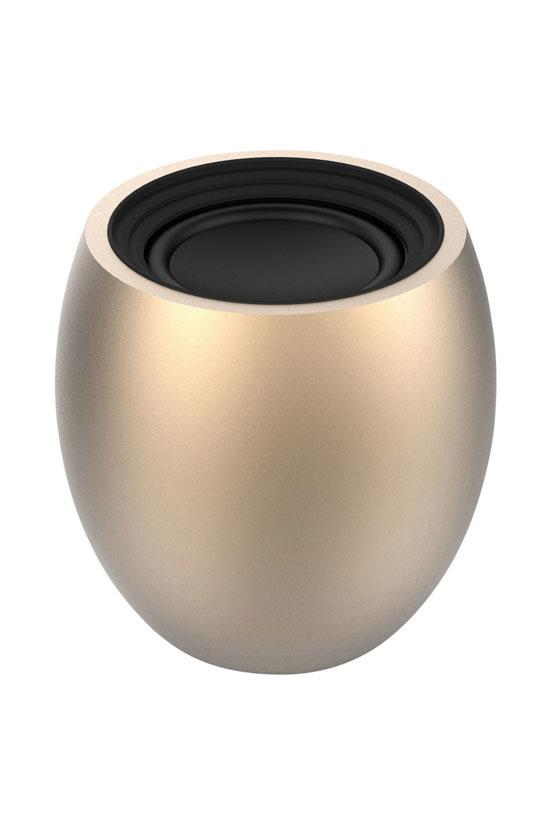 "Xoopar Eggi Portable Bluetooth Speaker in Metallic Gold, $59.95, <a href=""http://www.myer.com.au/shop/mystore/gifts/christmas-giftorium-gifts-for-him/technology---novelty/xoopar-xoopar-eggi-portable-bluetooth--174%3B-speaker-metallic-gold"">Myer</a>"