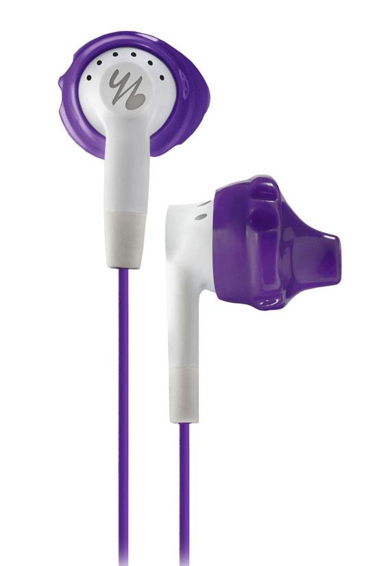 "Yurbuds Inspire 200 women's in-ear headphones, $54.95, <a href=""http://www.myer.com.au/shop/mystore/electrical/headphones/yurbuds-yurbuds-womens-inspire-200-in-ear-headphones-purple-white"">Myer</a>"