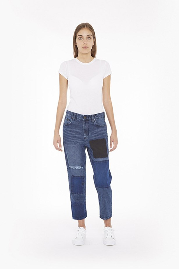 """<strong>Laura Collins, Features and Culture Editor</strong> <br><br>""""I have been a long-time devotee of Nobody's black skinnies, and I never thought I would find a slouchy, blue pair of jeans that made me look cool and not like a soccer mum. Until now. These are total gamechangers."""" <br><br>Aki Boyfriend Jean in Japanese Blue, Waven, approx. $123, waven.co.uk"""
