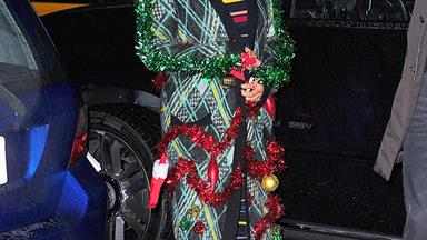 Celebrities In Ugly Christmas Sweaters, A Report