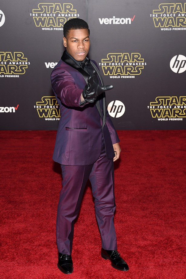 John Boyega as GQ LUKE SKYWALKER.