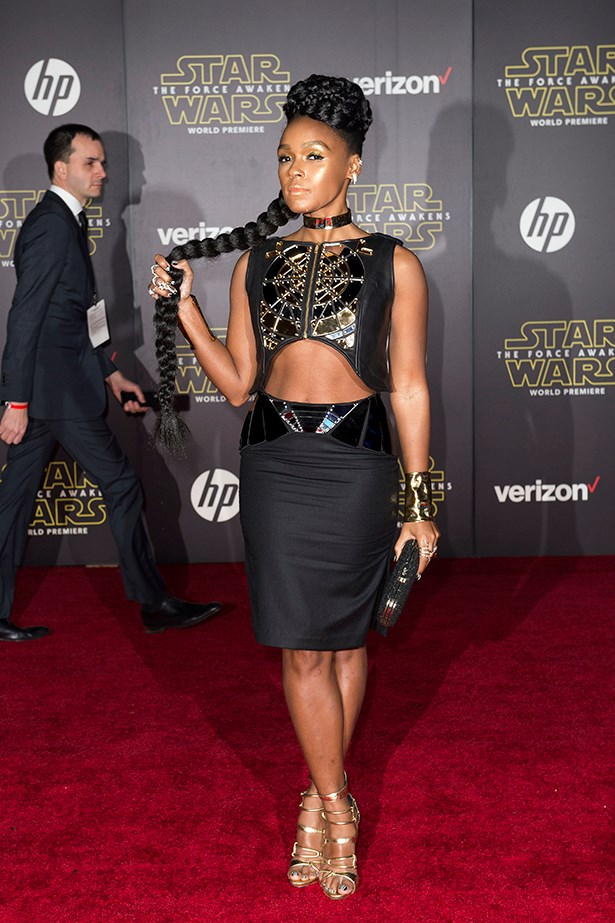 Janelle Monae as SEXY SPACE ROBOT.